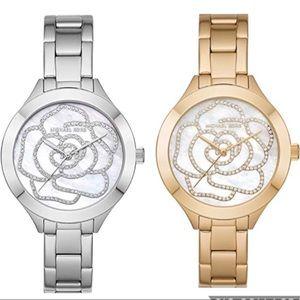 CM SALE‼️Michael Kors Mother of Pearl Rose Watch
